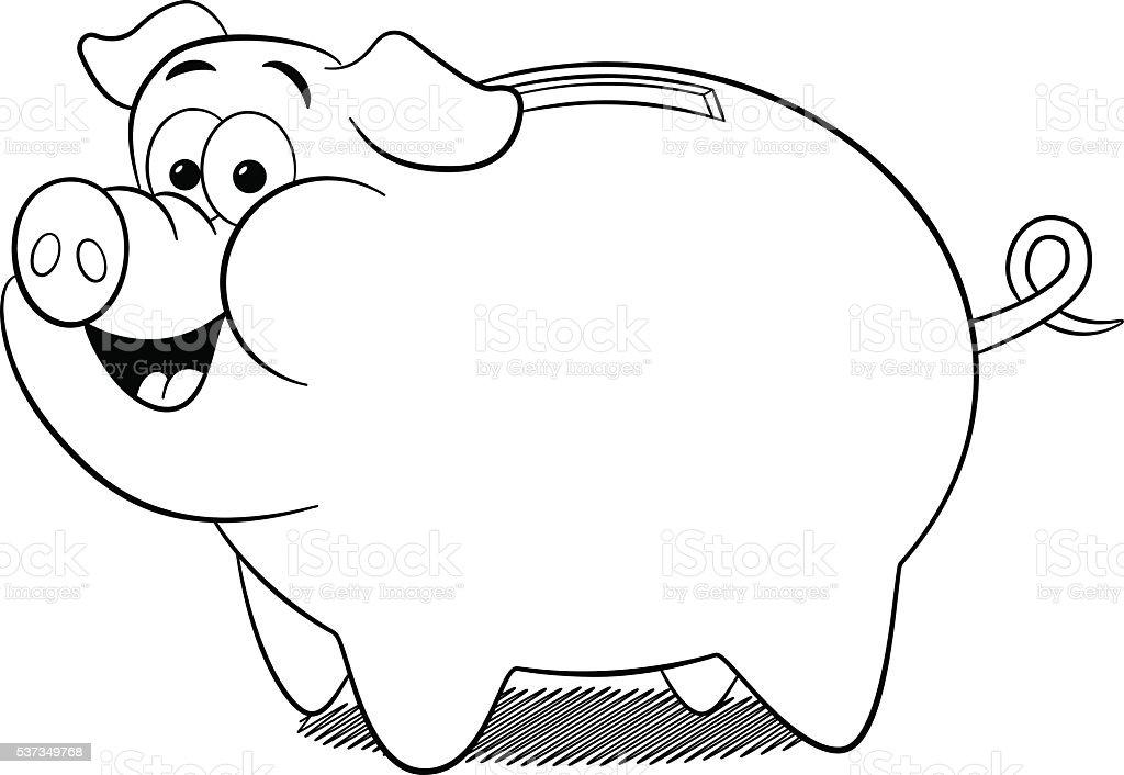 Comic sparschwein stock vektor art und mehr bilder von - Tirelire dessin ...