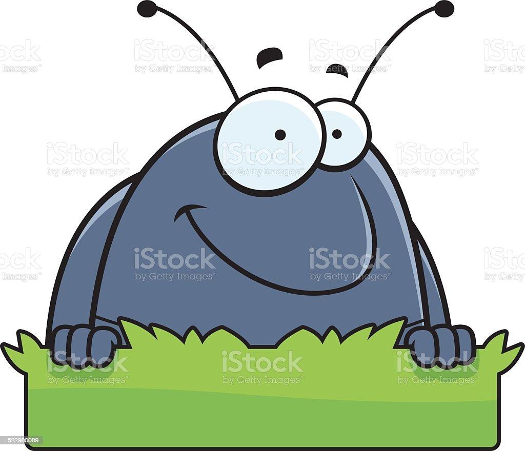Insecto De Historieta Píldora Hierba Señal Illustracion Libre de ...