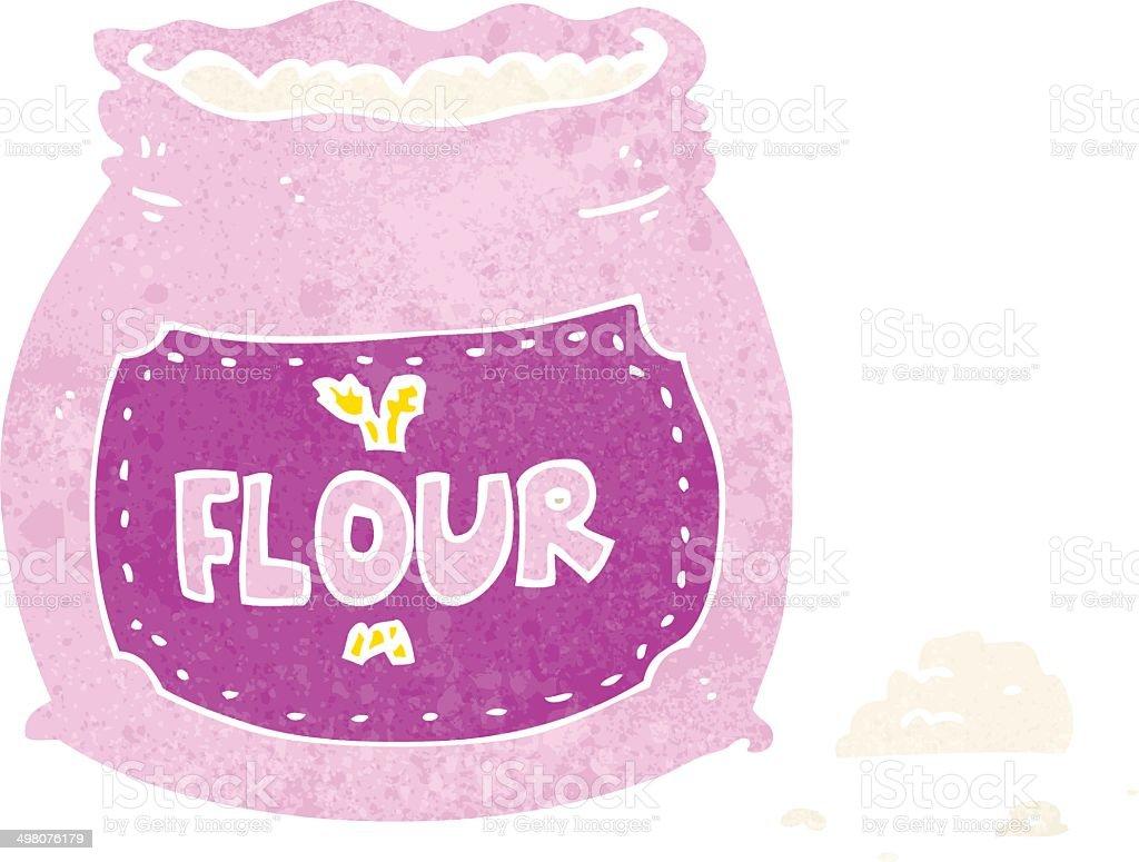 カットイラストピンクの粉バッグ いたずら書きのベクターアート素材や