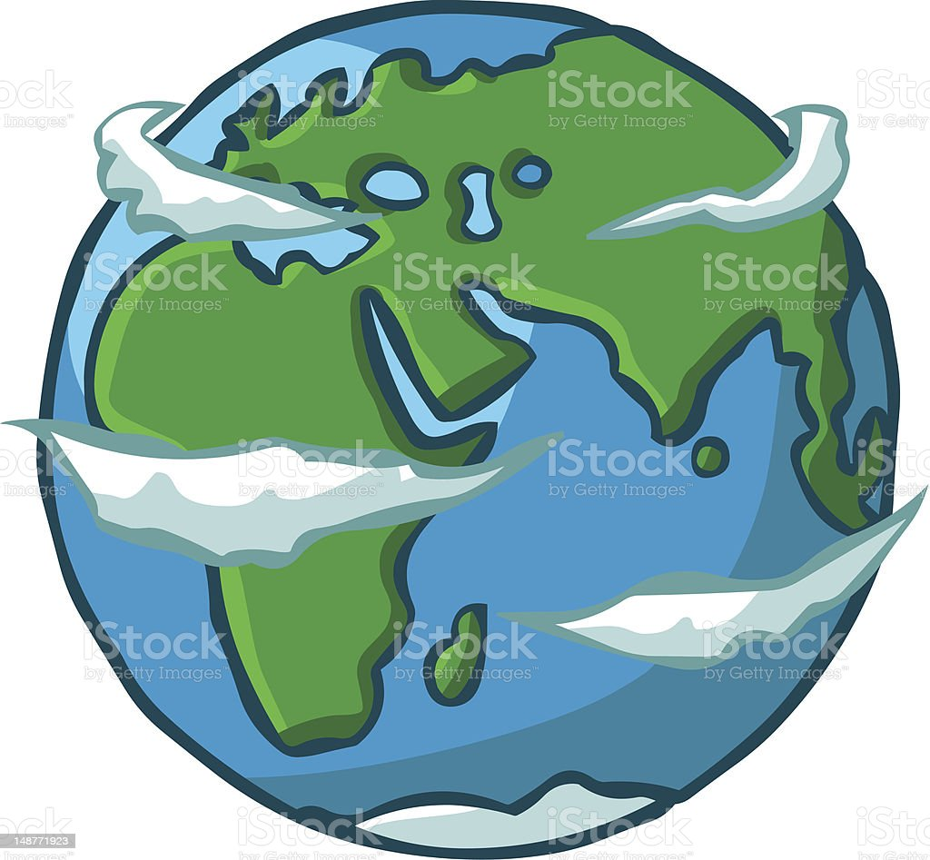 Cartoon Planet Earth Stock Vector Art Amp More Images Of
