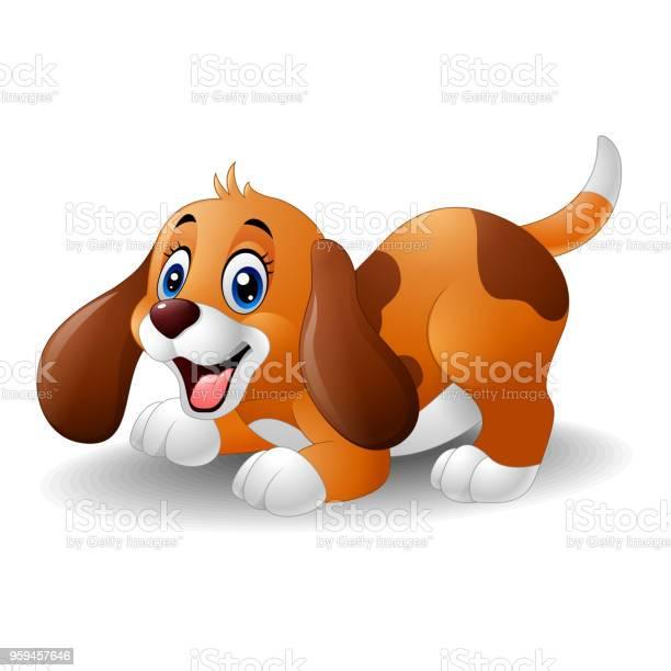 Cartoon playful puppy vector id959457646?b=1&k=6&m=959457646&s=612x612&h=3oenfa4o2gt8ubmky0ltogjfmsgewuwmx959xpe 0ek=