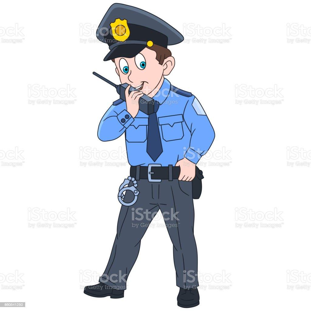 Dessin Officier De Police Vecteurs Libres De Droits Et Plus D Images Vectorielles De Adulte Istock