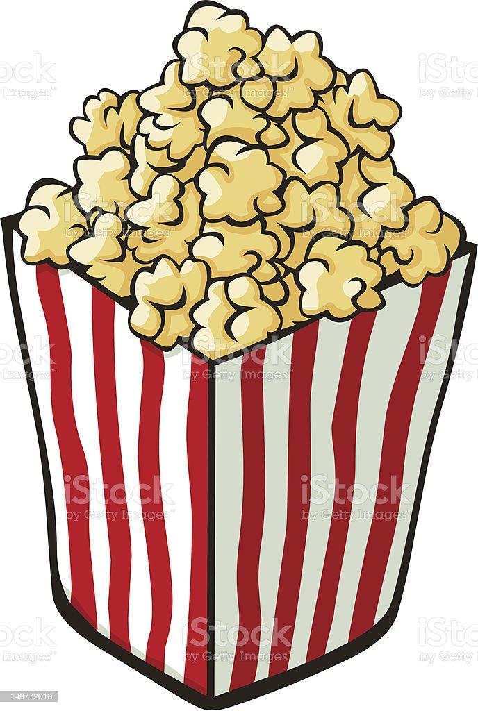 Cartoon Popcorn Stock Illustration - Download Image Now ...