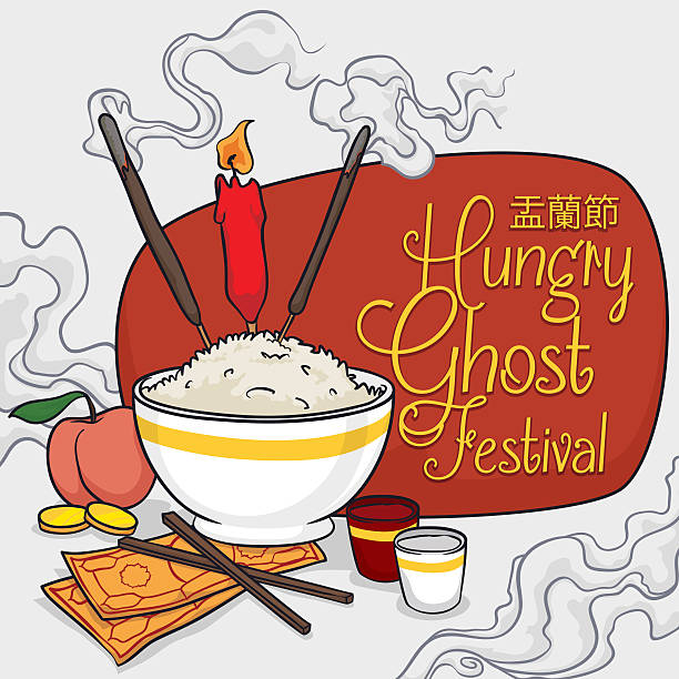 Image result for ghost festival clipart