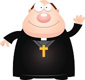 Angry Cartoon Priest stock photos - FreeImages.com