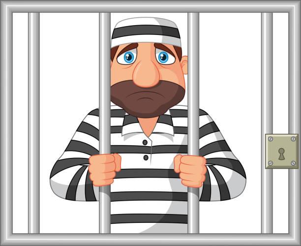 Royalty Free Prison Escape Clip Art, Vector Images ...