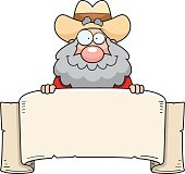 Cartoon Prospector Banner