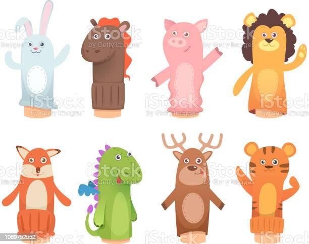 Cartoon puppets dolls from socks on hands and fingers puppet toys for vector id1089752552?b=1&k=6&m=1089752552&s=612x612&h=kvqpzjr 8jluhkarbacb5sffln7ufagxvddn2t2dpmq=