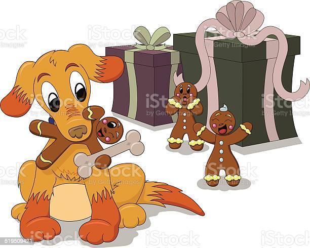 Cartoon puppy dog plays with gingerbread men vector id519509421?b=1&k=6&m=519509421&s=612x612&h=yph0 uzatu0sopsmurh3urrds c7of7cr59k19gholu=