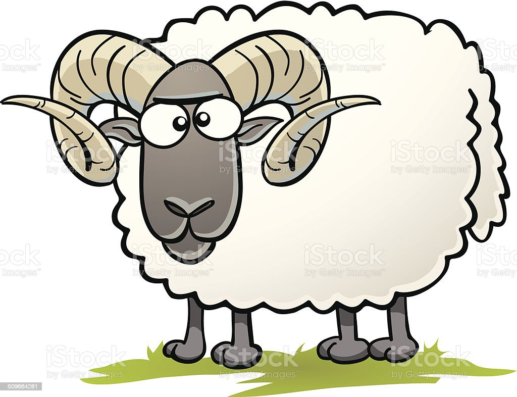 royalty free ram sheep cartoon clip art vector images rh istockphoto com ram clipart black and white ram clipart png