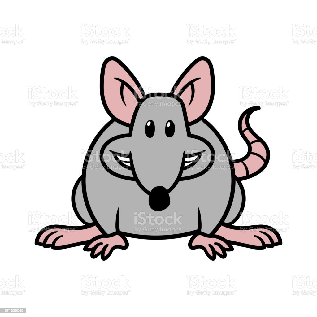 Cartoon Rat Stock Illustration Download Image Now Istock