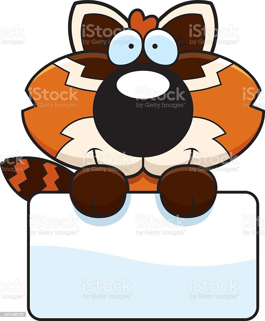 Dessin Anime De Panda Roux Stock Vecteur Libres De Droits 531488765