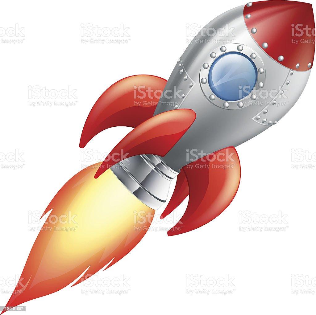 Cartoon rocket space ship royalty-free cartoon rocket space ship stock vector art & more images of art