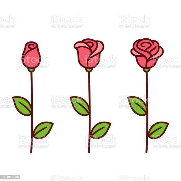 Cartoon rose set vector id924846030?b=1&k=6&m=924846030&s=612x612&h=b5cbabuqobedrwkjpucwuejpylicskofbjsvhncmf68=