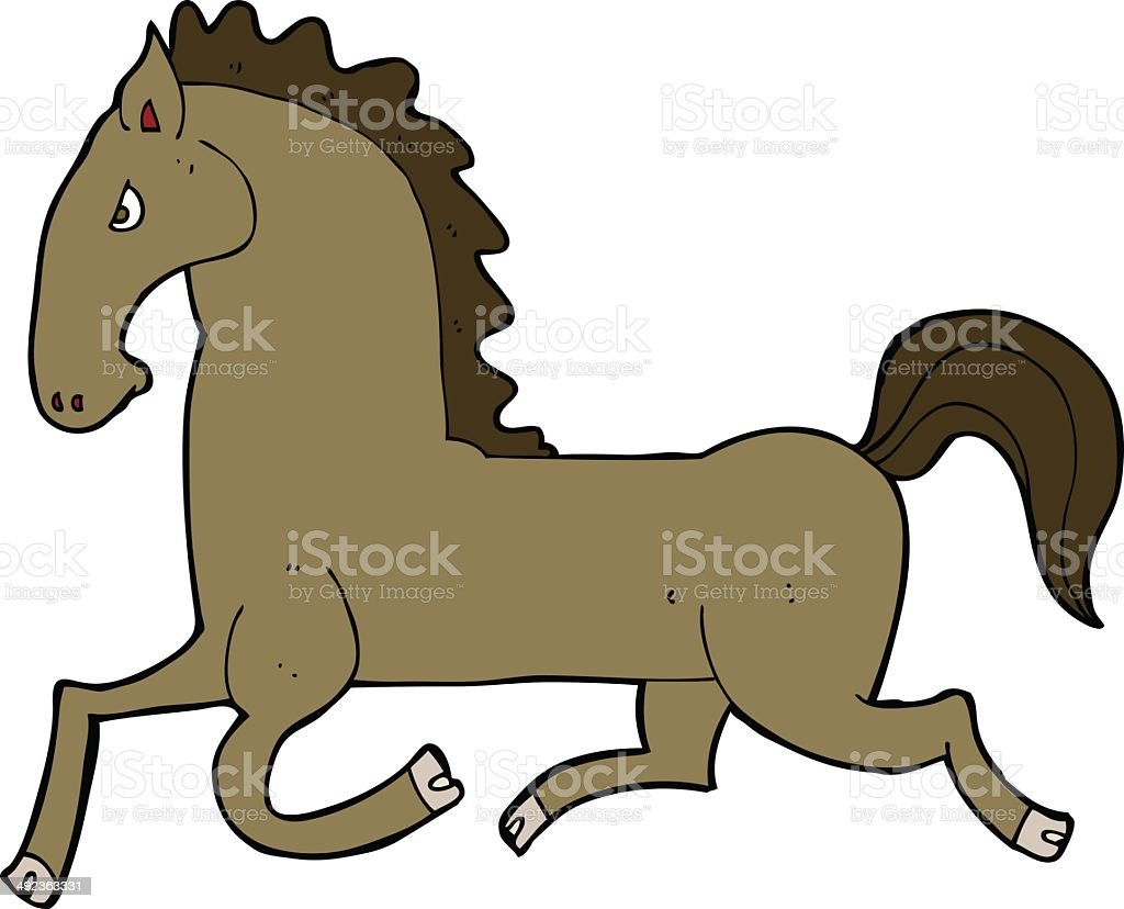 Cartoon Running Horse Stock Illustration Download Image Now Istock