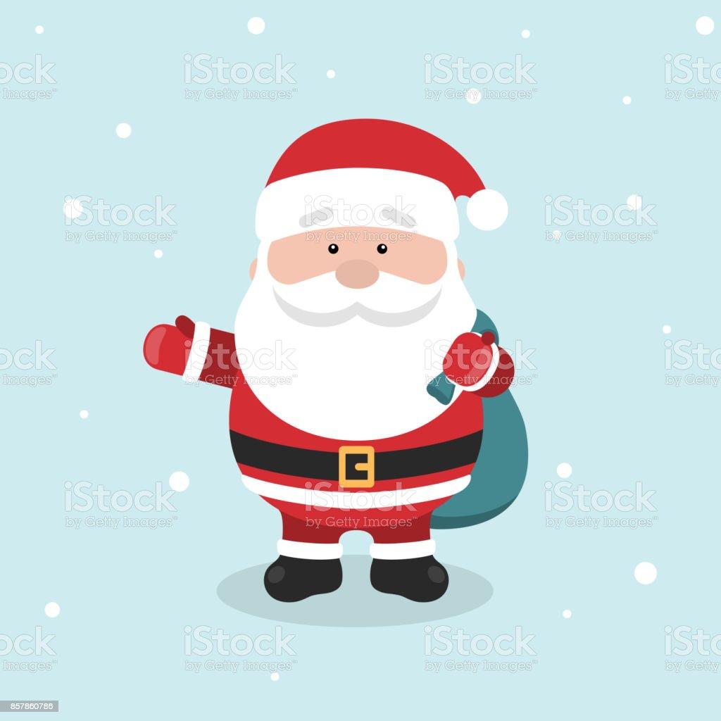 Cartoon Weihnachtsmann Für Ihre Weihnachten Und Neues Jahr