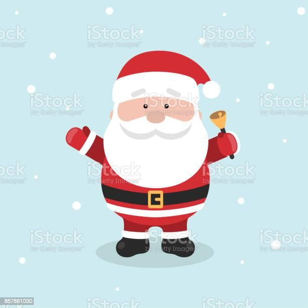 Cartoon Santa Claus For Your Christmas And New Year Greeting Design Or Animation - Immagini vettoriali stock e altre immagini di Adulto