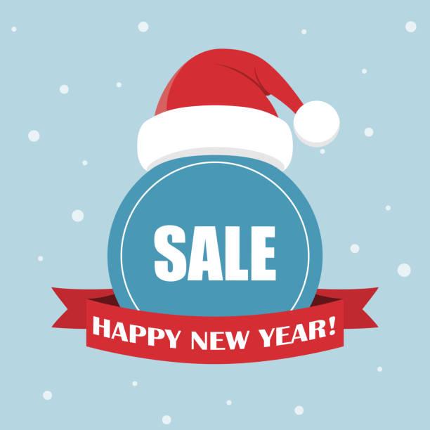 cartoon weihnachtsmann mütze für ihr weihnachten und neues jahr gruß design. - hauben stock-grafiken, -clipart, -cartoons und -symbole