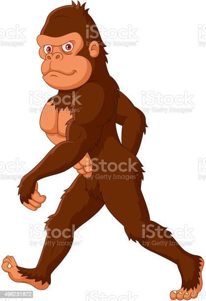Cartoon sasquatch walking vector id496231872?b=1&k=6&m=496231872&s=612x612&h=axi6yvofwhsc7capykvj7 5bq9i 1wxkxmgpzypbaew=