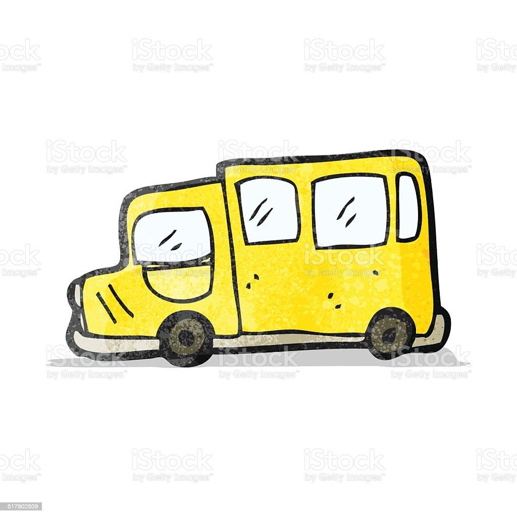 カットイラストスクールバス のイラスト素材 517902509 | istock