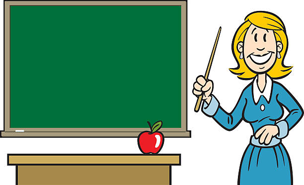 Teacher Looking At Camera Alone Illustrations, Royalty ...