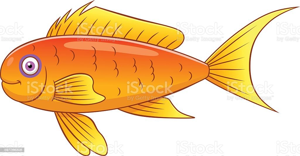Cartoon sea goldie royalty-free cartoon sea goldie stock vector art & more images of animal