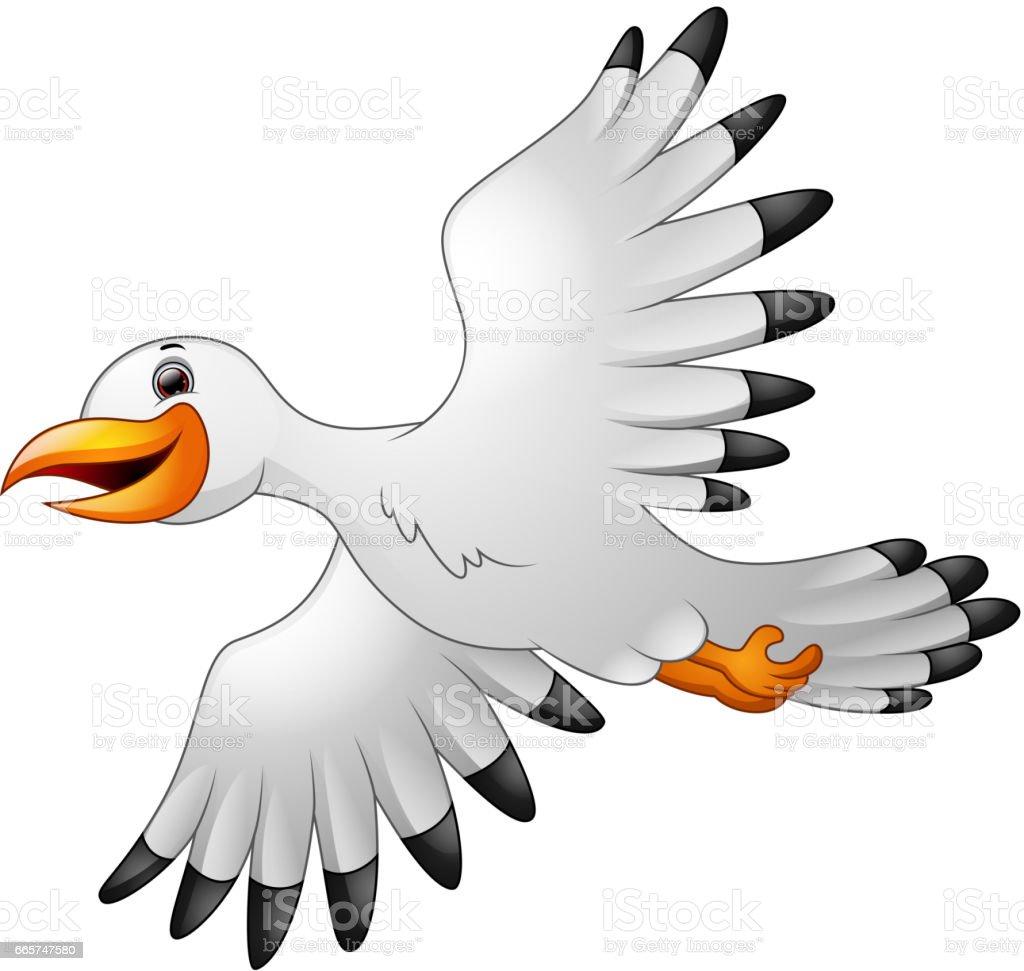 Dessin anim mouettes volant vecteurs libres de droits et plus d 39 images de aile d 39 animal istock - Dessins de mouettes ...