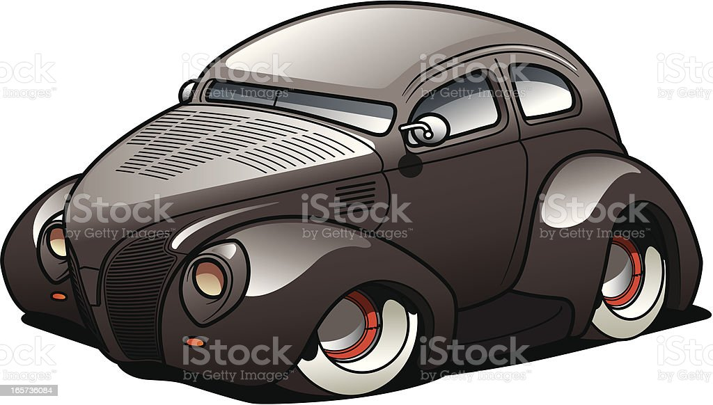 Cartoon Sedan royalty-free cartoon sedan stock vector art & more images of car