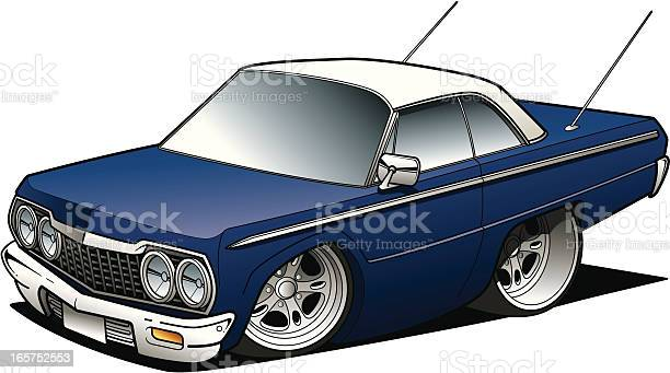Cartoon Sedan Stock Illustration - Download Image Now