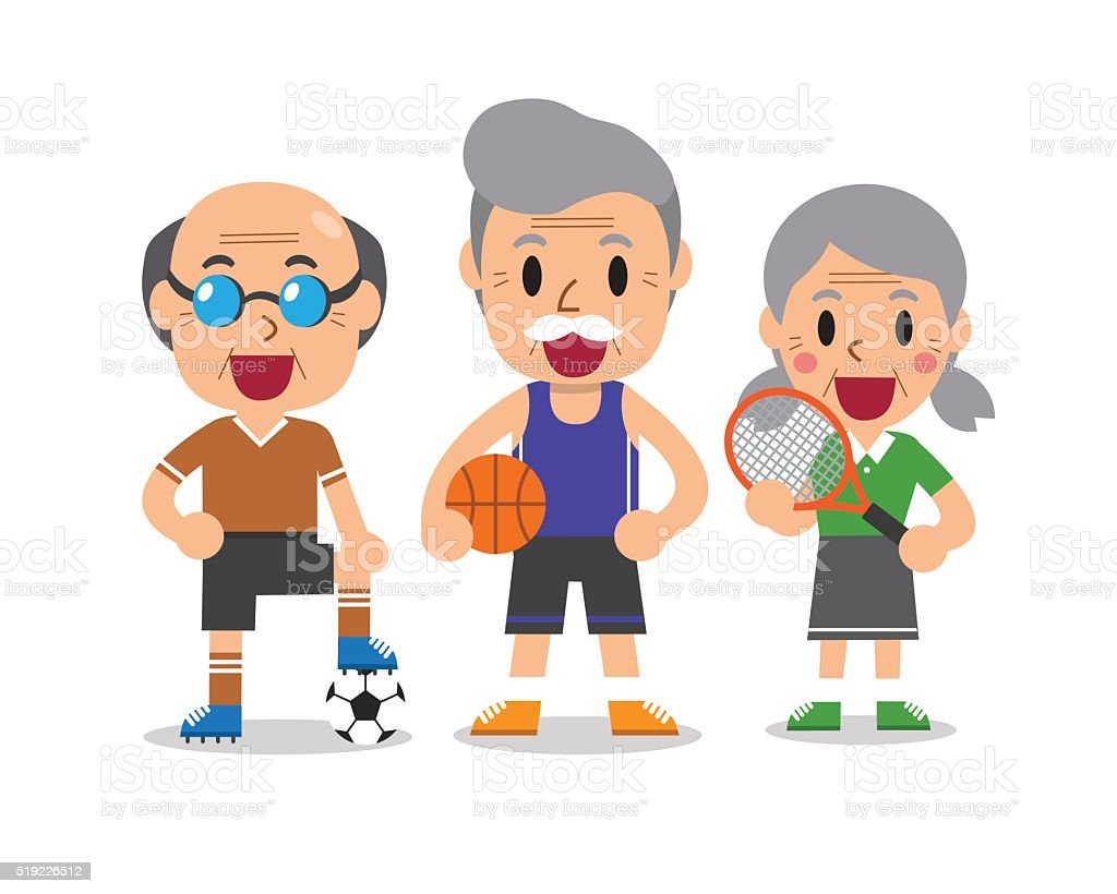 Photos, illustrations et art vectoriel - Senior sport