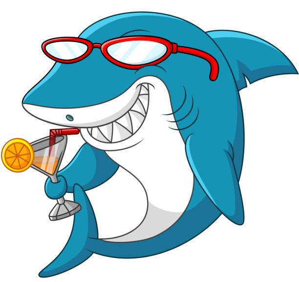 cartoon shark - google stock illustrations