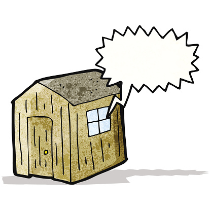Cartoon Shed Stock Illustration - Download Image Now - iStock