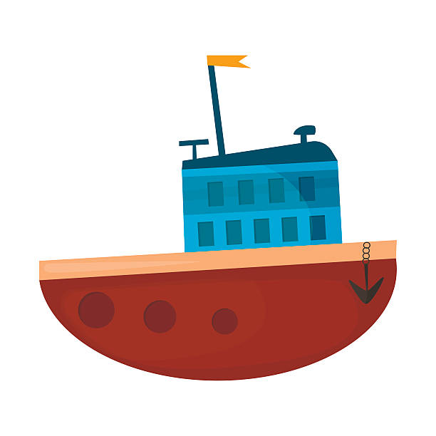 Royalty Free Wooden Boat Clip Art, Vector Images ...