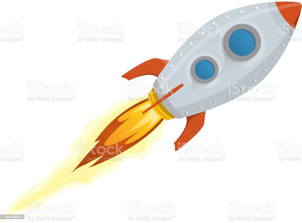 Cartoon Sketch Of A Rocket Ship Stock Vector Art & More
