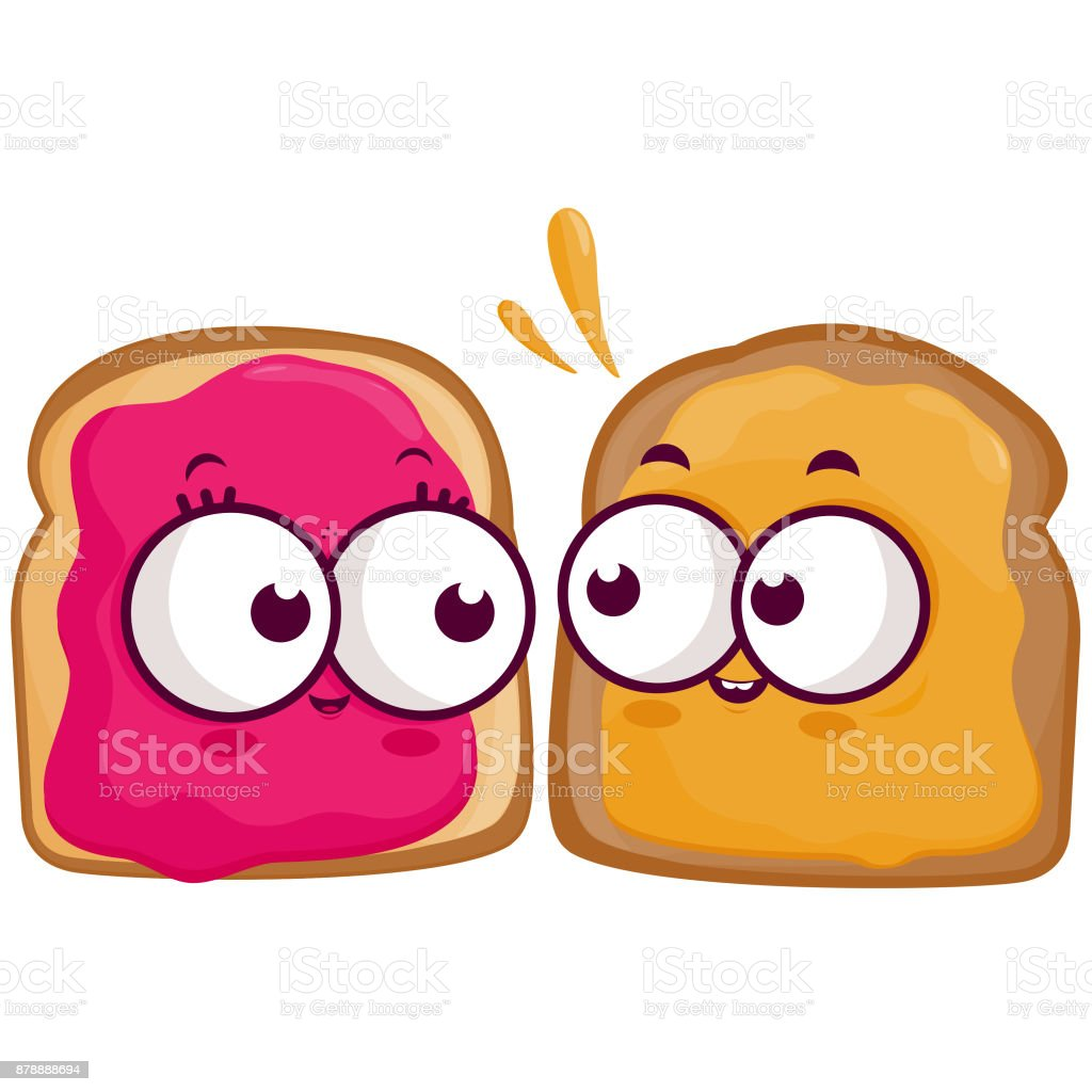royalty free peanut butter and jelly sandwich clip art vector rh istockphoto com