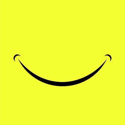 Cartoon Smile Logo clipart