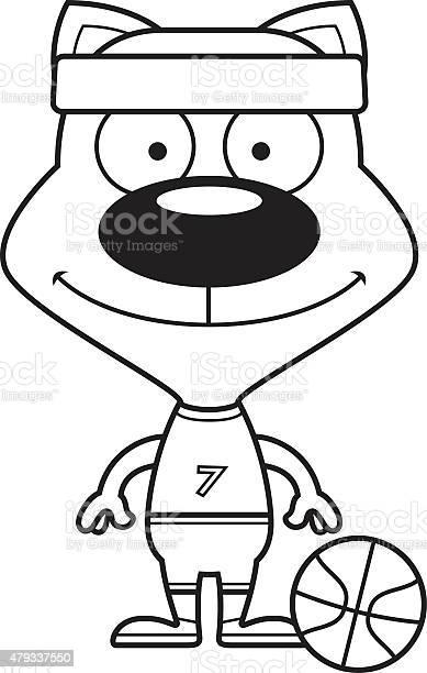 Cartoon smiling basketball player kitten vector id479337550?b=1&k=6&m=479337550&s=612x612&h=oqokcc5unv3ivbb0fhhirhulskl5kz8w car2m5kotm=