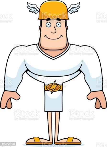 Leende Grekisk Gud