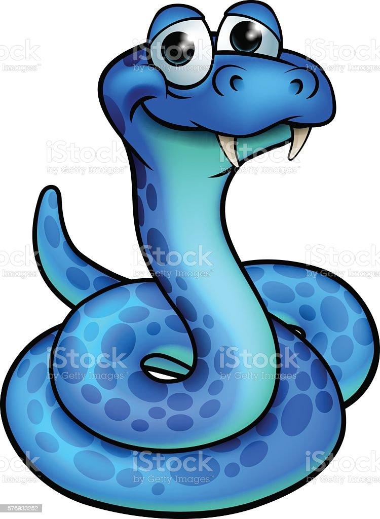 Dessin Animé Serpent dessin animé de serpent – cliparts vectoriels et plus d'images de