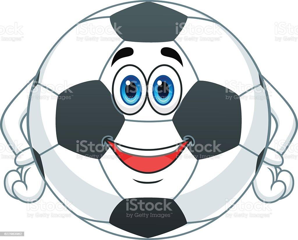 カットイラストサッカーボール - イラストレーションのベクターアート