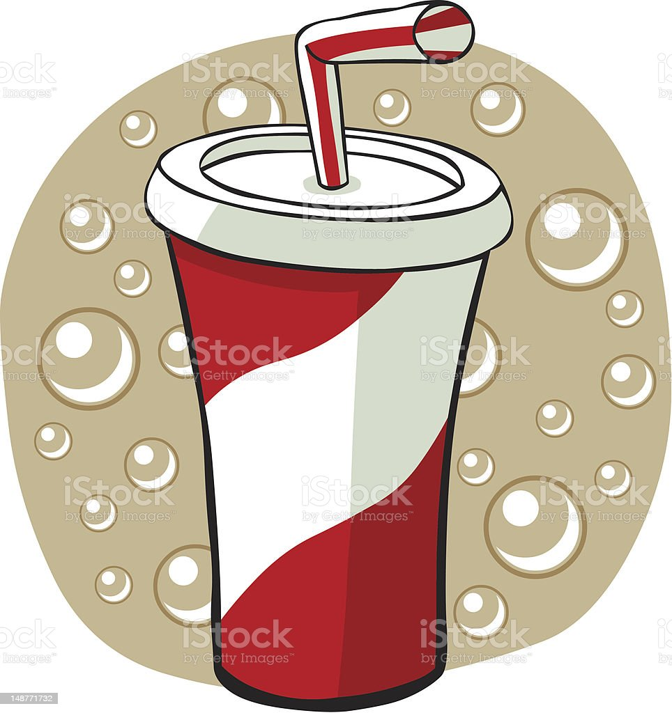 Cartoon Soda royalty-free stock vector art
