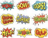 Cartoon sound effects