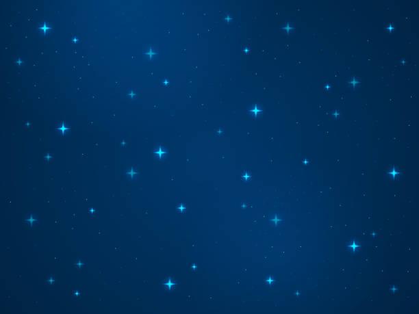 cartoon space hintergrund. sterne kosmos nachtsternsternei sky universum staublicht stern milchig so galaxy astronomie textur vektorkonzept - milky way stock-grafiken, -clipart, -cartoons und -symbole