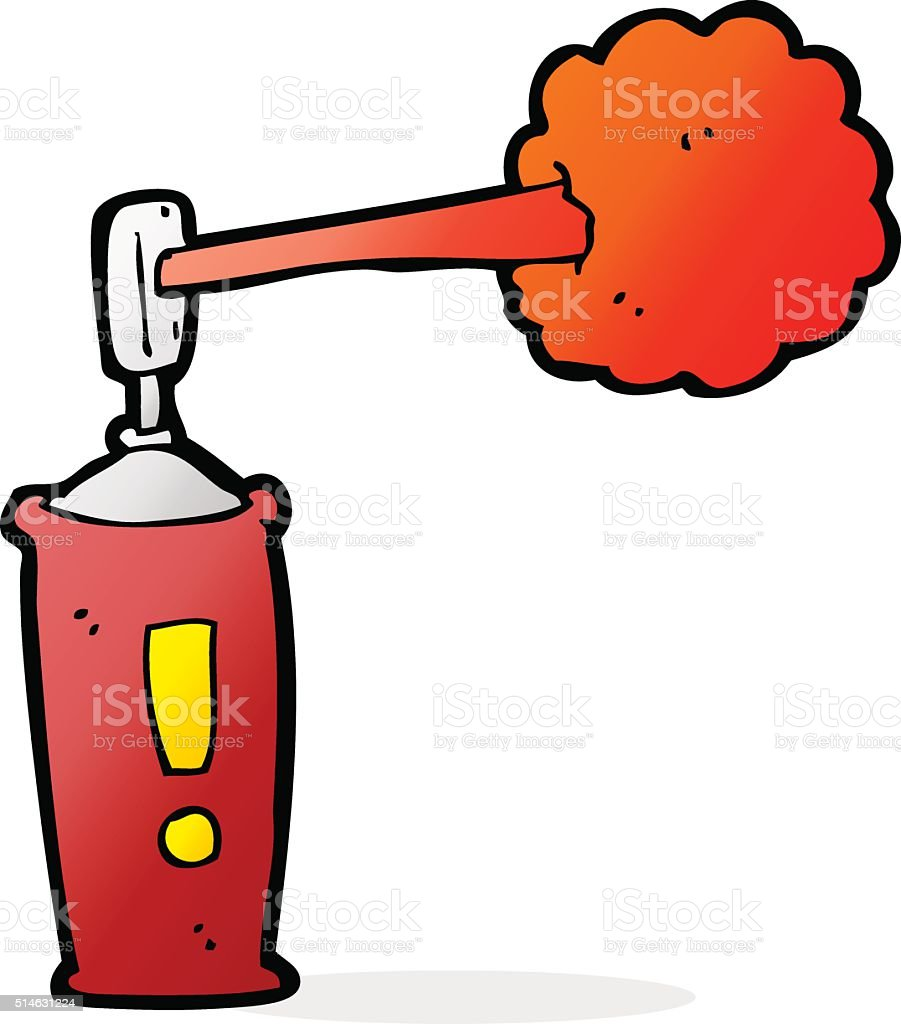 cartoon spray can royalty-free cartoon spray can stock vector art & more images of aerosol can