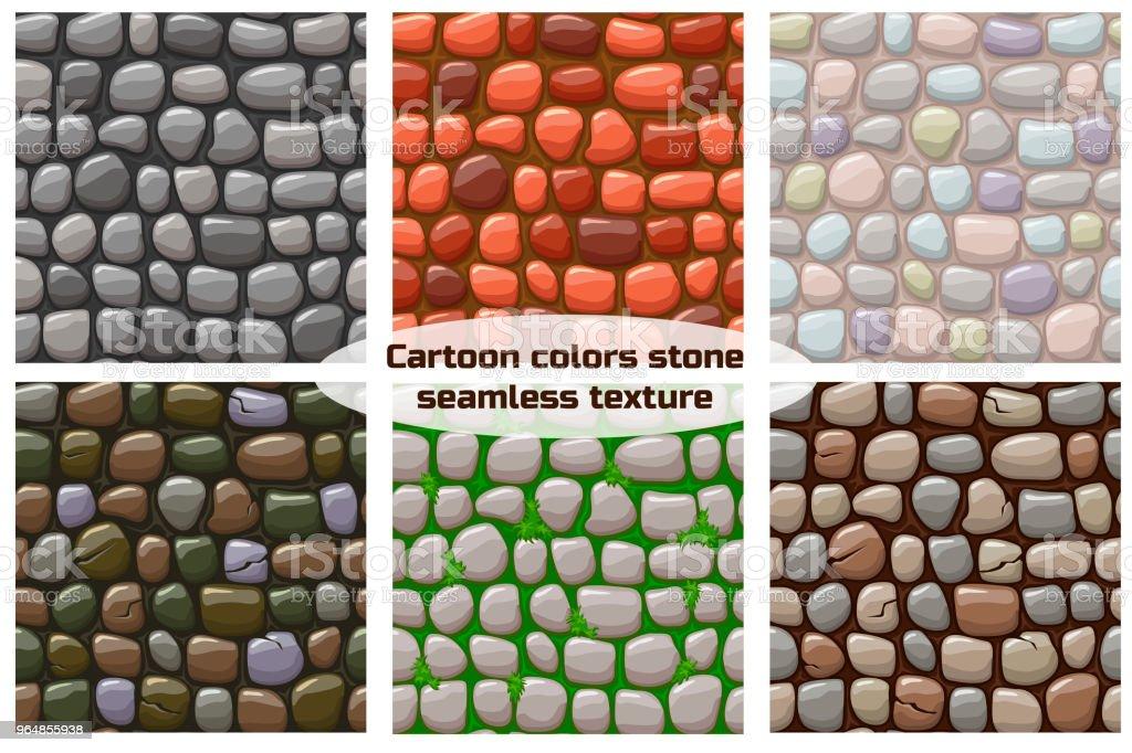 cartoon stone texture, vector seamless background royalty-free cartoon stone texture vector seamless background stock vector art & more images of abstract
