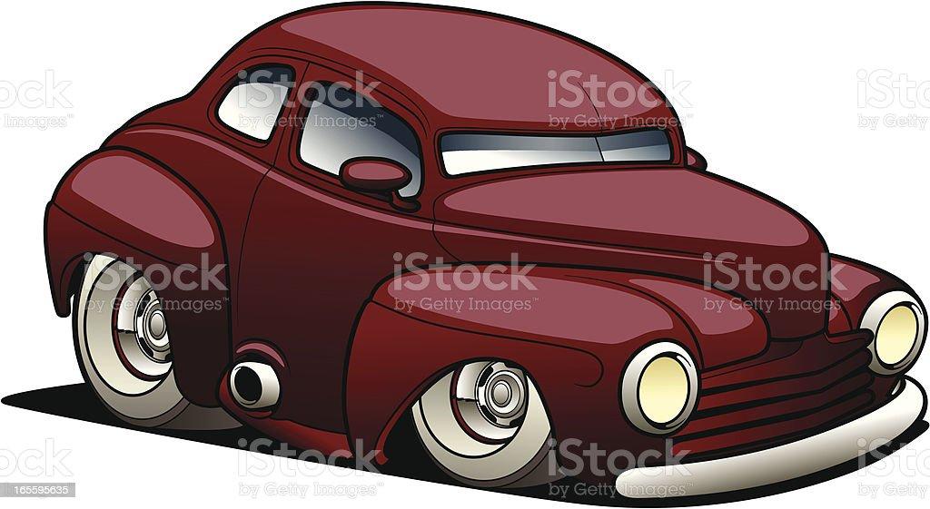 Cartoon Street Rod royalty-free cartoon street rod stock vector art & more images of car