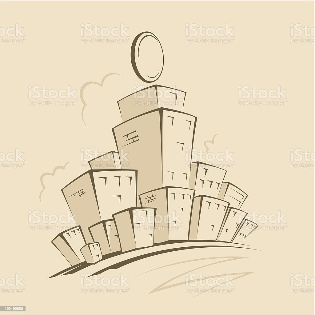 Cartoon street royalty-free cartoon street stock vector art & more images of architecture