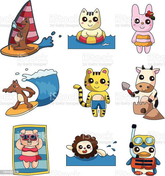 Cartoon summer animal vector id134433729?b=1&k=6&m=134433729&s=612x612&h=vibqh zxx 5agk6atenshliwxk8yaxivvfh4yqajbhg=