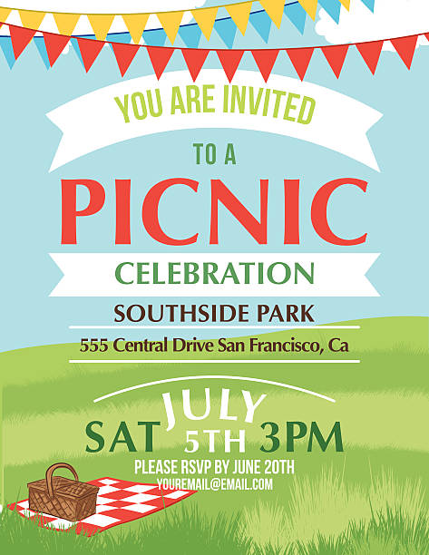 Picnic Flyer Free Vector Art 67 Free Downloads