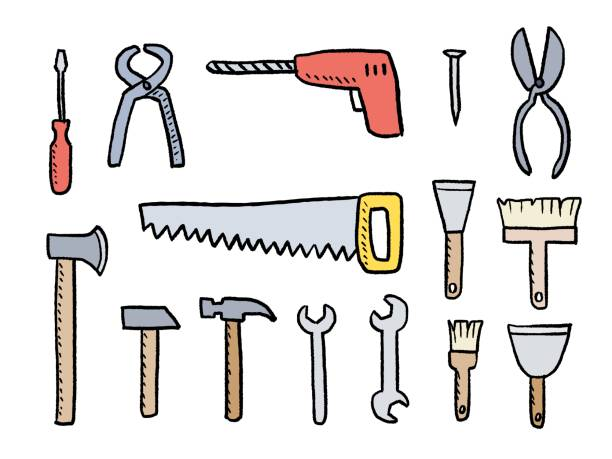 Best Wrench In Spanish Illustrations, Royalty-Free Vector